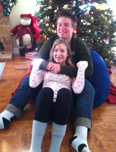 Jack and Karly Xmas 2013